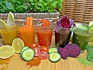 Zdravé stravování - čerstvé šťávy