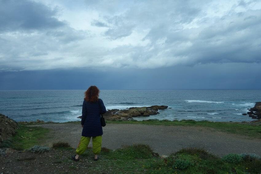 More, mraky, obloha