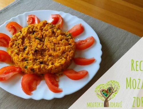 Podzimní zdravá dobrota: zapečená dýně smrkví a cuketou